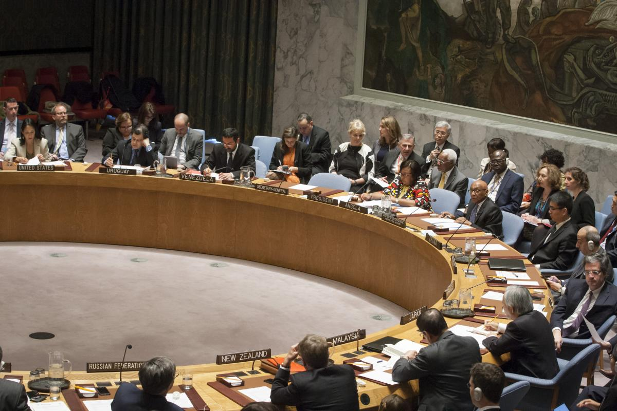 open debate on working methods of the security council