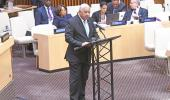 Fijian Prime Minister Hon. Voreqe Bainimarama delivers his address at the High Level Plenary on Promotion for the International Day for Total elimination of Nuclear Weapons.