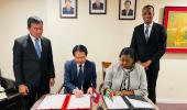 Signing Ceremony at the Lao PDR Mission