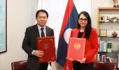Lao People's Democratic Republic established the diplomatic relation with the Republic of Panama