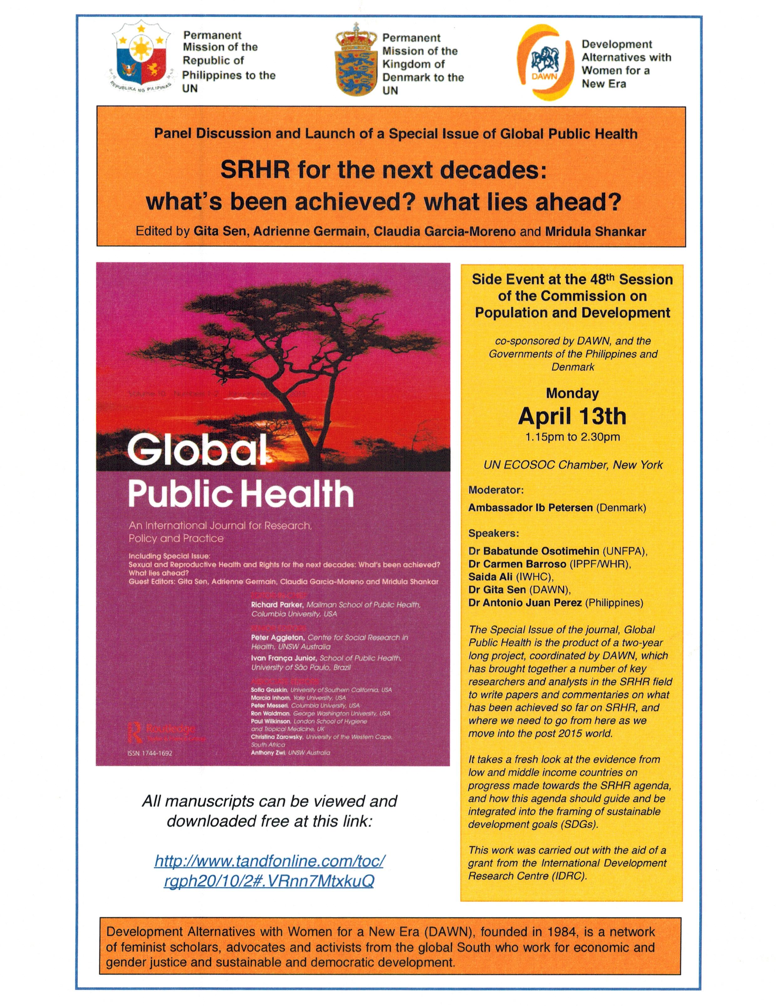 Global Public Health | Philippines